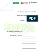 Caderno de Registro Do Percurso Social Formativo