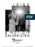 Welding and Hot Dip Galvanizing