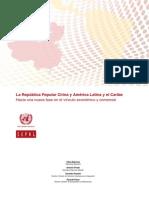 La Republica Popular China y America Latina y El Caribe Trade