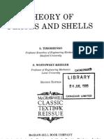Theory of Plates and Shells-Timoshenko