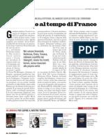 Il coraggio al tempo di Franco