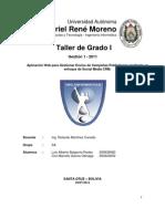 Informe Final de Taller de Grado I - Social CRM
