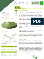 Rallis India Ltd - Result Update Q1 FY12
