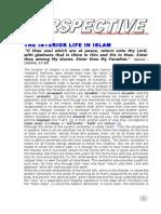 The Interior Life in Islam