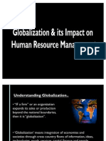Globalization & Its Impact on HRM FINAL