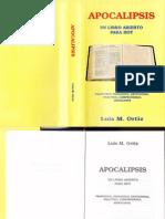 Apocalipsis Un Libro Abierto Para Hoy - LUIS M. ORTIZ