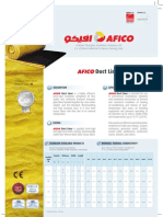 Duct Liner (AFICO)