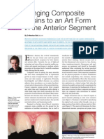 Bringing Composite to an Art Form in the Anterior Segment