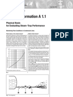 Physical Basis for Evaluating Steam Trap Performance