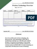 11 07 2361-00-0000 Blluetooth r Wireless Technology Overview