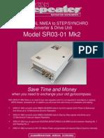 SR03 01Mk2 Datasheet Rev4