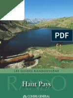 Guide des randonnées Alpes Maritimes haut pays