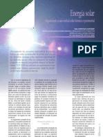 Articulo Energia Solar en Tecnoambiente No211