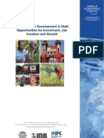 WEF Haiti Private Sector Development Report 2011