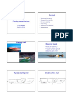 Planing Vessel Lecture