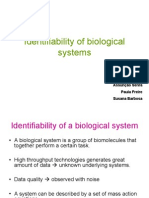 Identifiability of Biological Systems
