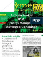 [Smart Grid Market Research] A Closer Look at DSM, Energy Storage and Distributed Generation August 2011 Zpryme Research Smart Grid Insights