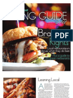 Citybeat Dining Guide2011