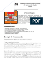 Catálogo - Sensor Gás - SB 330