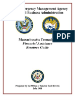 Scott Brown FEMA SBA Release