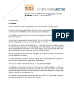 Inversores en Empresas Internet en Madrid - 17-02-2011