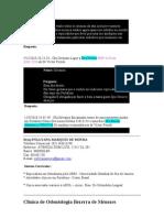 ORTONDOTIA - DTM - ETC - INFORMÇÕES GERAIS