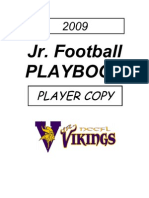 2008 09 a Squad Playbook Vikings
