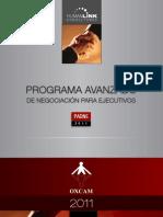 PADNE-Programa Avanzado de Negociación Para Ejecutivos