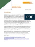 11-07-29 Aktuelle CDU-Infos