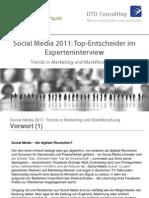 Social Media 2011 Trends in Marketing Und Marktforschung