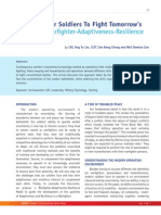 Pointer V37N1 A Warfighter-Adaptiveness-Resilience Model