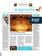 Mais Parlamento - Agosto 2011
