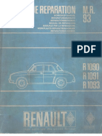Renault Dauphine R1090, R1091, R1093 Workshop Manual