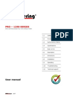 3 PRO-1250 Series User Manual
