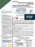 Bulletin SAPB&NDLB 110731