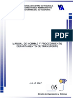 Manual Del Dpto Transporte