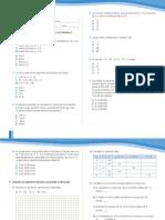 Evaluaciones Matemática 8° año