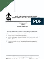 Trial PMR Math N9 P1 2010
