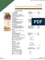 Winelist menu