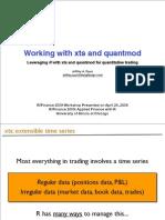 Xts Quantmod Workshop
