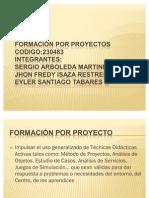 Formación por Proyectos