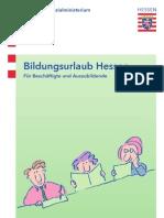 Information En Zum Hessischen Bildungsurlaubsgesetz
