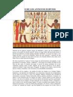 El Ocio de Los Antiguos Egipcios