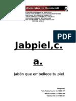 Proyecto de Jabon ( Jabpiel, c.a. )