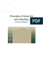 Principle of Islam for New Muslim