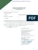 11 Cv 00245 SS Docket 8 Dismissal