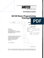 NX100 Basic Programming