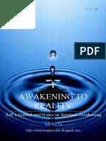 Awakening to Reality: Soh's Journal and Notes on Spiritual Awakening