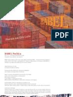 BABEL Poética Ano I, n.º 1 – Novembro/Dezembro de 2010