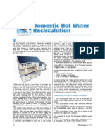 6-10 Domestic Hot Water Re Circulation